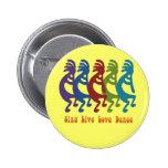 Kokopelli - cante la danza viva del amor pins