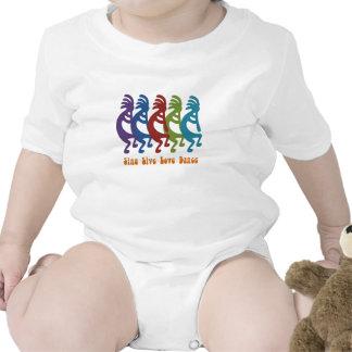 Kokopelli - cante la danza viva del amor trajes de bebé