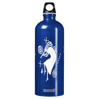 Kokopelli Carving Water Bottle