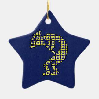 Kokopelli Ceramic Ornament