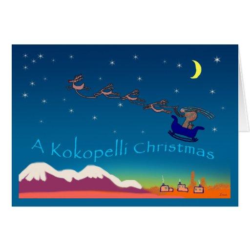 Kokopelli Christmas Cards