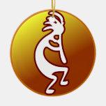 Kokopelli Christmas Ornament