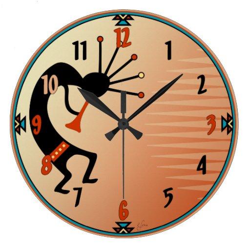 Kokopelli Clock