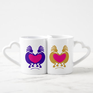Kokopelli Couples' Coffee Mug Set