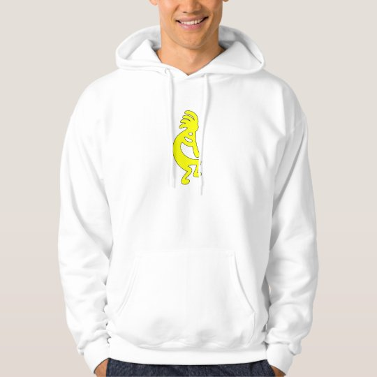 Kokopelli Dancing Figure Tribal Woman Hopi Dance Hoodie