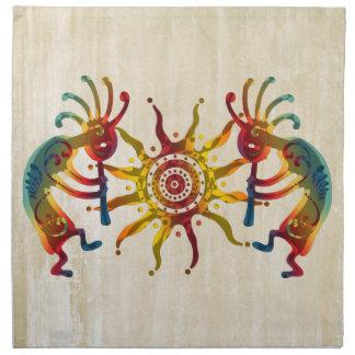 KOKOPELLI DUO SUN + your ideas Cloth Napkin