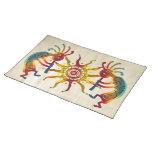 KOKOPELLI DUO SUN + your ideas Cloth Placemat