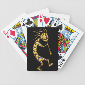 Kokopelli emoji art magical icons bicycle playing cards