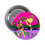 Kokopelli, Flute Player of the Desert Pinback Buttons