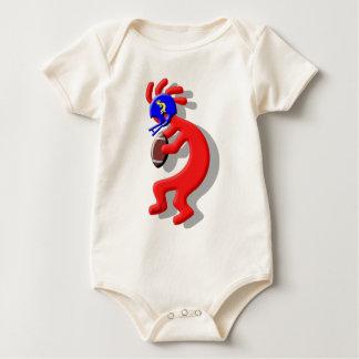 Kokopelli Football Baby Bodysuit