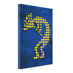 Kokopelli Gallery Wrapped Canvas