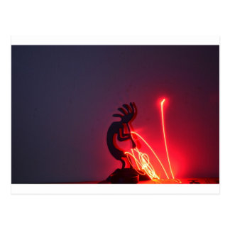 ¡Kokopelli genera energía ligera! Postal