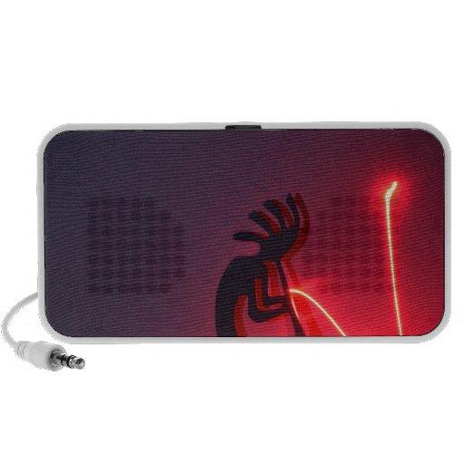 Kokopelli Generates Light Energy! Mp3 Speaker