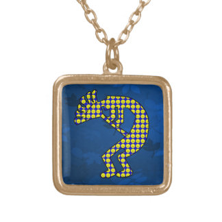 Kokopelli Gold Plated Necklace