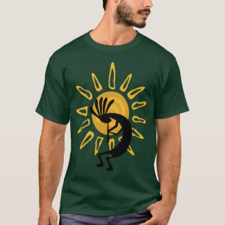 Kokopelli  Gold Tee Shirt