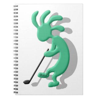 Kokopelli Golf Notebook