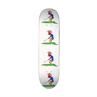 Kokopelli Golfer Skateboard