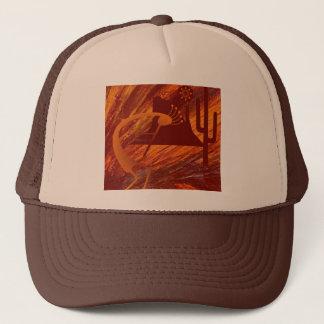 Kokopelli Heat Trucker Hat