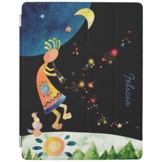 Kokopelli Illustration Magnetic iPad 2/3/4 Covers