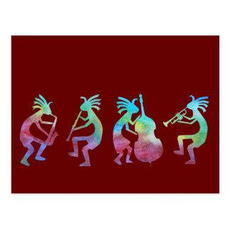 Kokopelli Jazz Quartet Post Cards