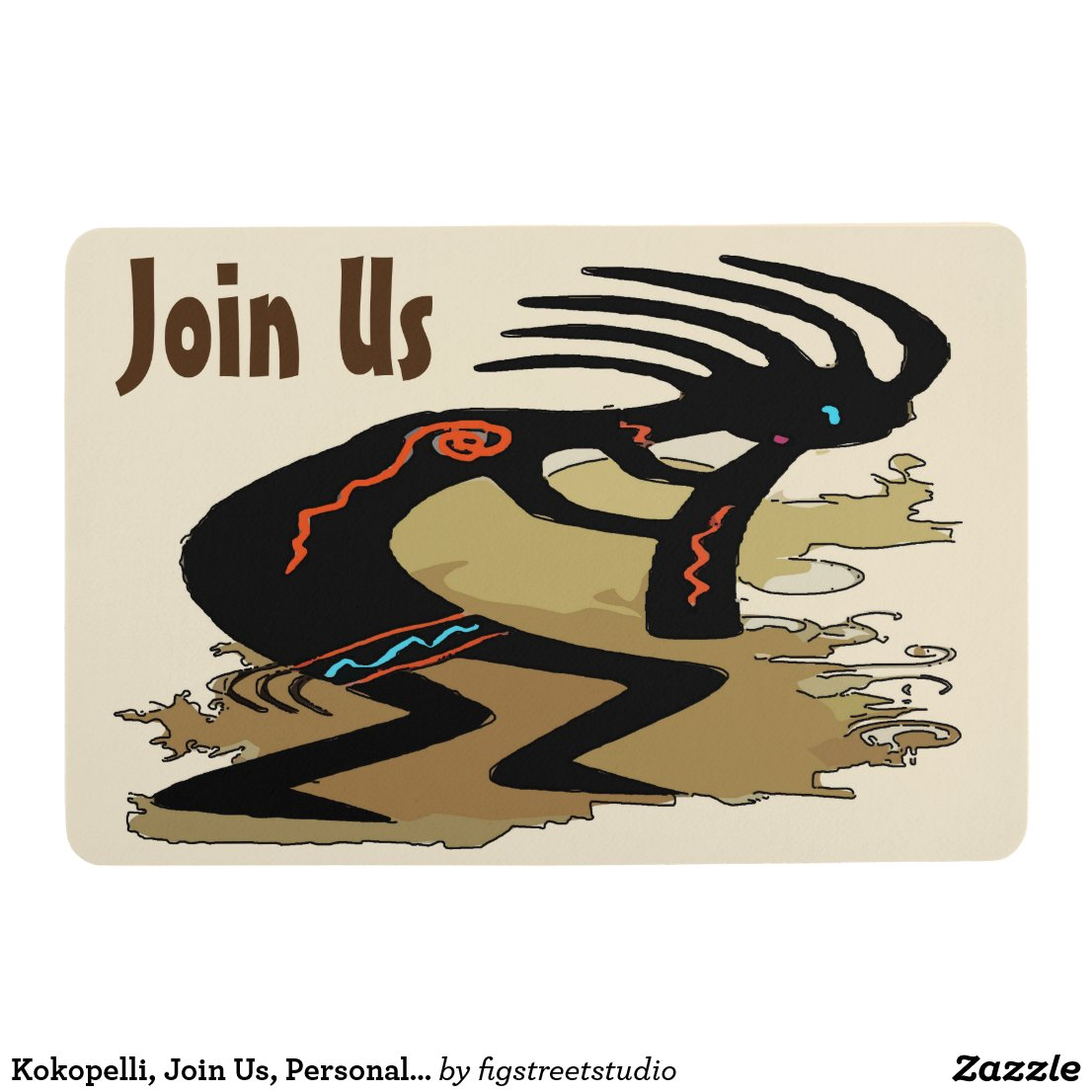 Kokopelli, Join Us, Personalize