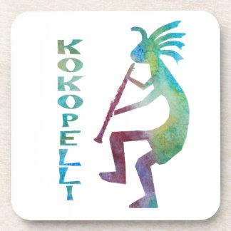 Kokopelli juega el Clarinet Posavaso
