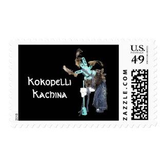 Kokopelli Kachina Postage Stamps