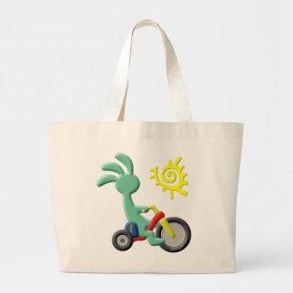 Kokopelli Kids Big Wheel Large Tote Bag