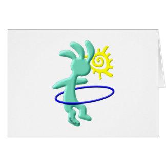 Kokopelli Kids Hula Hoop Card