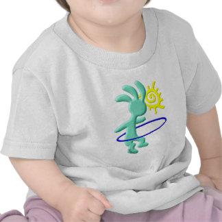 Kokopelli Kids Hula Hoop T Shirt