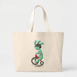 Kokopelli Kids Tricycle Large Tote Bag