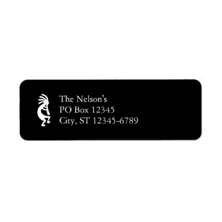 Kokopelli Custom Return Address Label