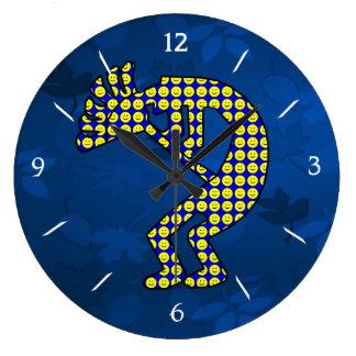 Kokopelli Large Clock