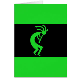 Kokopelli long Green Card