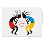 Kokopelli Love Greeting Cards