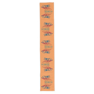 KOKOPELLI / MAN IN THE MAZE colored + your ideas Long Table Runner