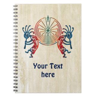 KOKOPELLI / MAN IN THE MAZE + your ideas Note Book