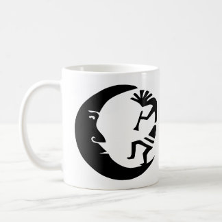 Kokopelli Moon Classic White Coffee Mug
