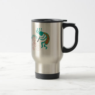 Kokopelli 15 Oz Stainless Steel Travel Mug