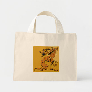 Kokopelli Musician Mini Tote Bag