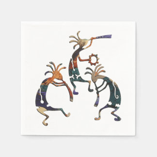 KOKOPELLI musician trio + your ideas Napkin