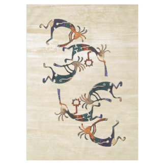 KOKOPELLI musician trio + your ideas Tablecloth