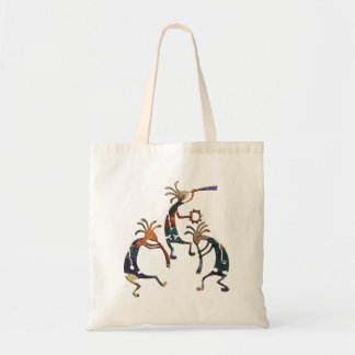 KOKOPELLI musician trio + your ideas Tote Bag