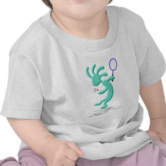 Kokopelli Native American Badmintom T Shirt