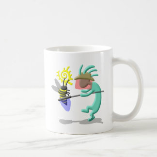 Kokopelli Native American Bee Keeper Coffee Mug