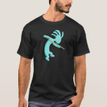 Kokopelli Native American Billiards T-Shirt