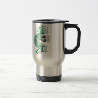 Kokopelli Native American Boxer Travel Mug