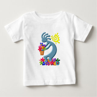 Kokopelli Native American Florist Tee Shirt