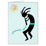 Kokopelli -- Native American Flute Player Stationery Note Card
