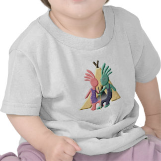 Kokopelli Native American Gothic Tshirt